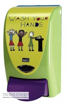 DEB STOKO - Now wash your hands Spender, 1 Liter Kartusche