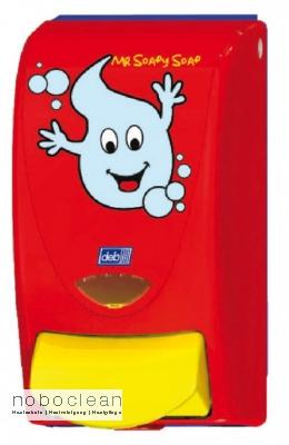 DEB STOKO - Mr Soapy Soap Spender, 1 Liter Kartusche